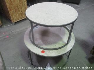 tables - damaged