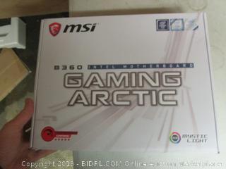 msi B360 intel motherboard gaming arctic