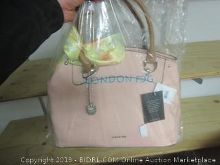 London Fog blush handbag