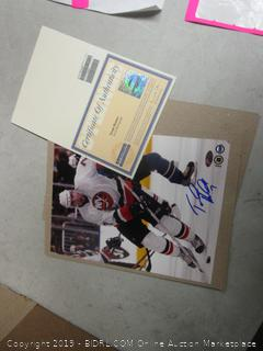 Trent Hunter Islanders vs Thrashers collectible photo - please preview