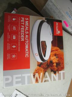 5 Meals Automatic Pet Feeder