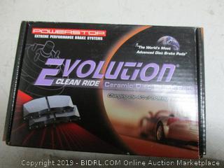 evolution clean ride ceramic disc brake pads