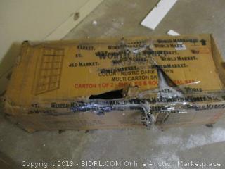 Augustus Libra Shelving  Incomplete Set, Damaged Box