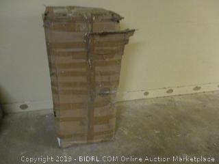 World Market Bookcase  Incomplete Set, damaged Box