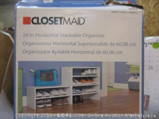 Closetmaid 24 in Horizontal Stackable Organizer