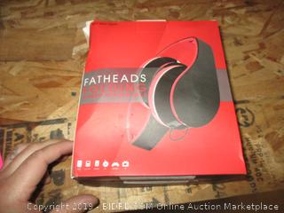Fatheads Folding Stereo Headphones