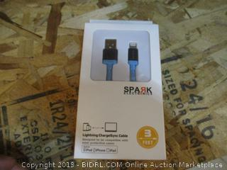 Spark Electronic Lightning ChargeSync Cable