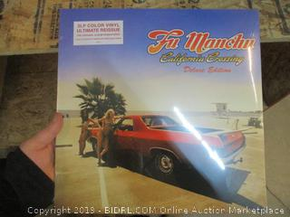 Fu Manchu California Crossing Vinyl