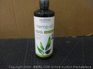Nutiva Hemp oil Organic Superfood