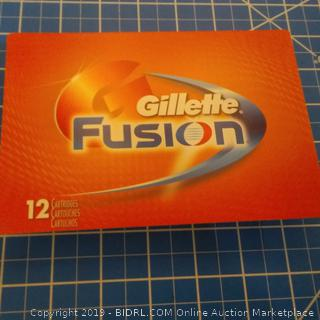 Gillette Fusion 12 Cartridges