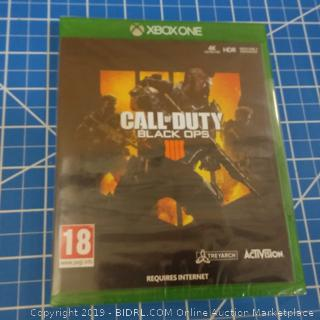 ABOXONE Call of Duty Black OPS Factory Sealed