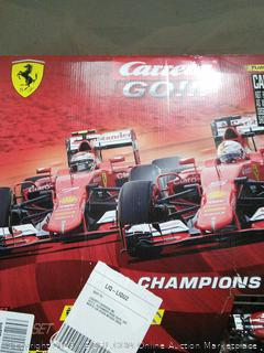 Ferrari Red Champions Slot Car Race Track