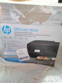HP OfficeJet 3830 Printer - Powers on - used
