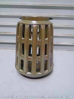 Privilege Brown Small Ceramic Lantern