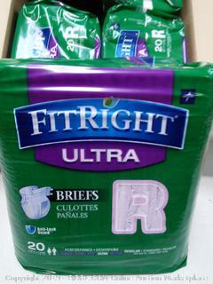 Medline Fit Right Ultra Briefs-Regular