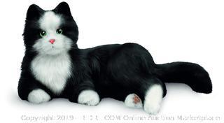 JOY FOR ALL Black and White Tuxedo Cat-Tested & Works! (Online $99.99)