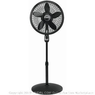 "Lasko 18"" Cyclone Pedestal Fan with Remote (Online $56.56)"
