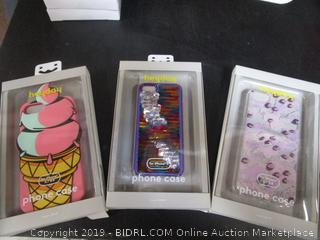 Heyday iPhone 6/7/8 Ice Cream Rainbow Sequin Case