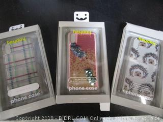 Heyday iPhone Cases Porcupine, Sequin, Plaid