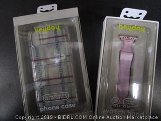 Heyday Plaid iPhone Case & Apple Watch Band