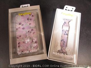 Heyday Leopard Apple Watch Band & iPhone Case Matching