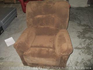 brown recliner