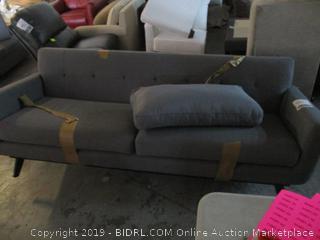 gray sofa - damaged