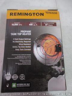 Propane Tank Top Heater