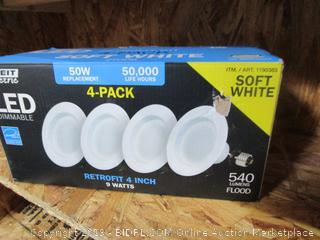 LED Soft White Bulbs
