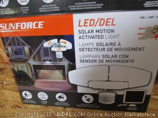 Sun Force Motion Activated Security Light