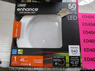Feit LED Enhance 50 Watt Replacement / 7.2W Retro Fit Light