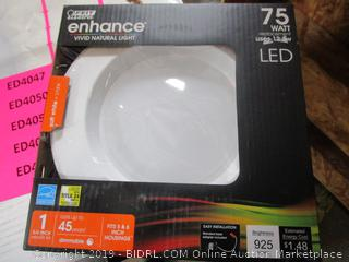 Feit LED Enhance 75 Watt Replacement / 12.3W RetroFit Light Kit