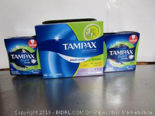 Tampax Multipax & Pocket Pearl Tampons