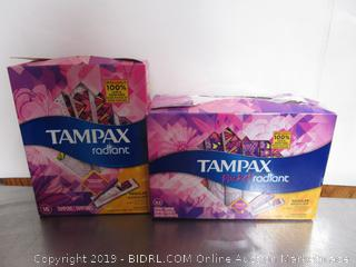 Tampax Radiant & Pocket Tampons