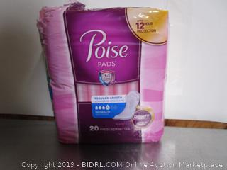 Poise Regular Pads