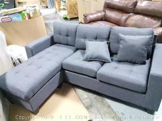 Swain Sectional (online $529)