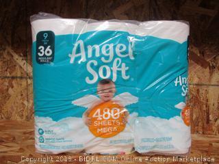 Angel Soft Toilet Paper Mega