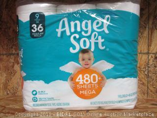 Angel Soft Mega Toilet Paper