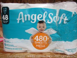 Angel Soft Mega Toilet Paper Rolls