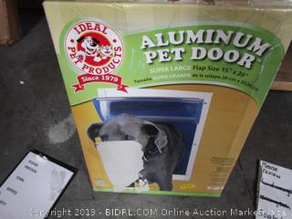 Aluminum Pet Door