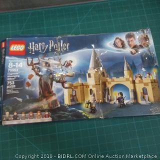 Lego Harry Potter damaged box