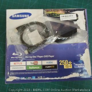 Samsung Blu-ray Disc Player/DVD Player