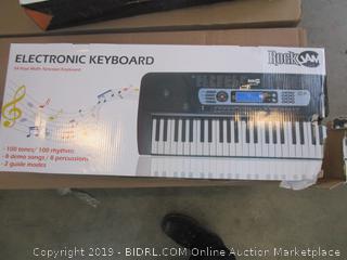 Rock Jam Electronic Keyboard damaged box