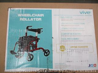 VIVE WHEELCHAIR ROLLATOR
