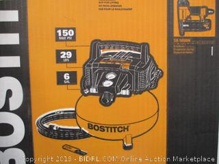 BOSTITCH TOOL & COMPRESSOR COMBO PACK