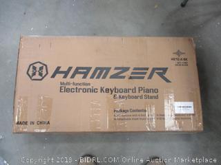 HAMZER ELECTRONIC KEYBOARD PIANO (POWERS ON)