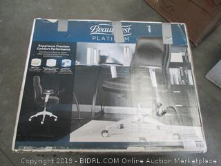 BEAUTYREST PLATINUM HIGH BACK CHAIR
