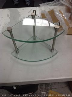 Corner Glass Table
