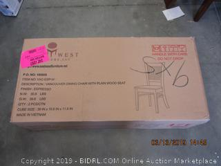 EAST WEST DINING CHAIR