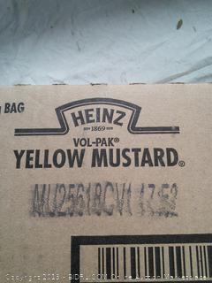 Heinz Vol-Pak Yellow Mustard